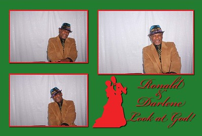 Ronald and Darlene's Wedding Photobooth