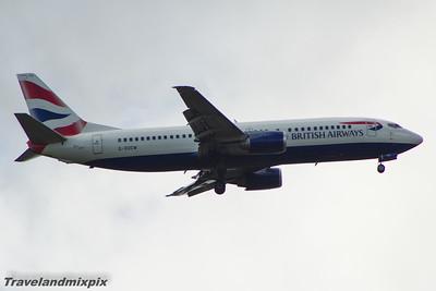 Boeing 737's of British Airways