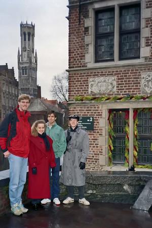 1992-01 Belgium Semester Abroad
