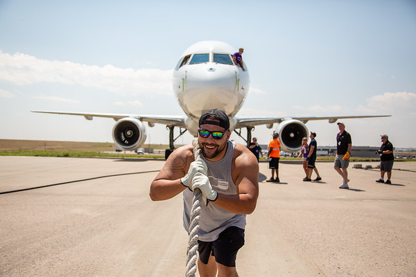 8-4-18 Special Olympics Plane Pull