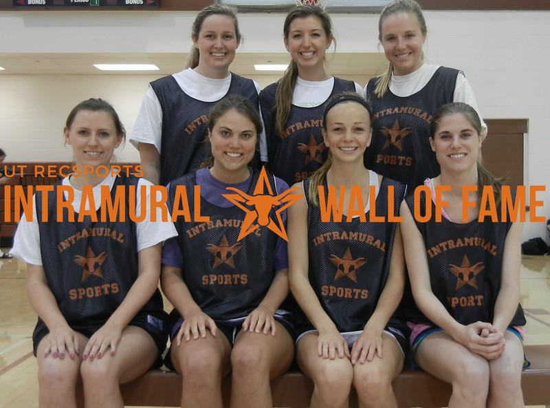 BASKETBALL Women's Champion  Twinstar  R1: Ellen Anderson, Amanda Jungwirth, Meredith Nagel, Kirby McDaniel R2: Kelly Wilson, Meghan Moreland, Madison McGlamery