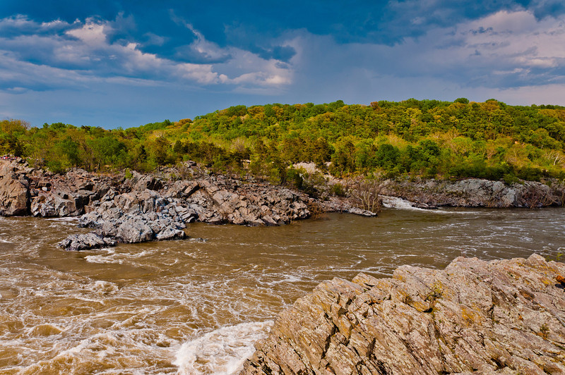 View of Potomac River, Great Falls Park, Virginia
