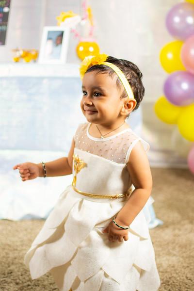 Anvi's first birthday