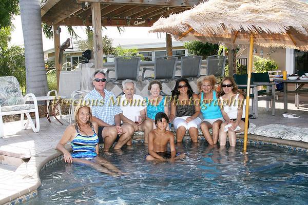 Fontana Family Pool Party
