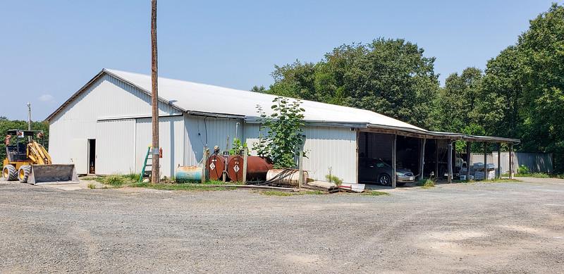 Warehouse with Equipment Storage