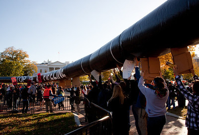 White House Pipeline Protest (11/6/11)