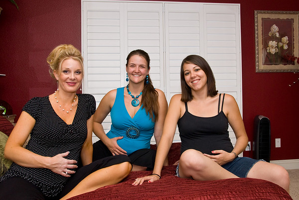 Three Mommies-to-Be