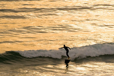 Surfing at Cardiff