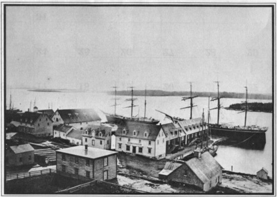 Yarmouth, Nova Scotia- 1870's. Zachariah Foote moved his family from Salem or Beverly, MA to Yarmouth, Nova Scotia in 1769. About 1 January 1784 he sailed for Salem, and he nor his crew were ever heard from again.