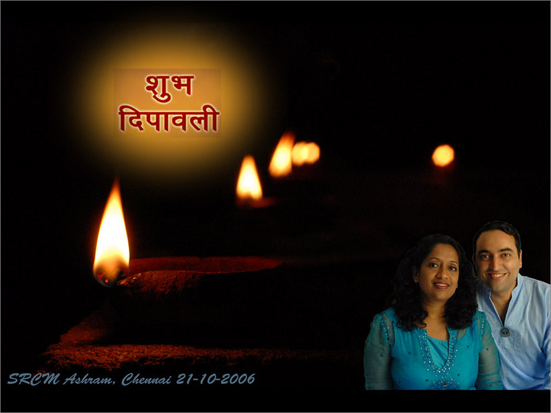 Happy Deepawali 2006 May this auspicious day brighten your life with happiness and joy!