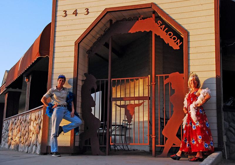 AndreaKaus (Chaos Graphics)  And Lady Kate!  At the Saddle Sore Saloon Norco, California May 18, 2009