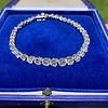 9.50ctw Round Brilliant Diamond Tennis Bracelet 36