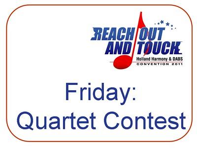 2011-0401 HH Conv -Quartet Contest