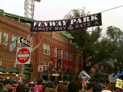 Fenway with Jared