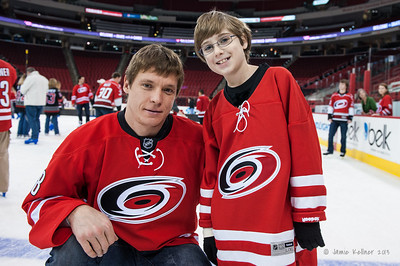 Skate with the Canes 12.18.13