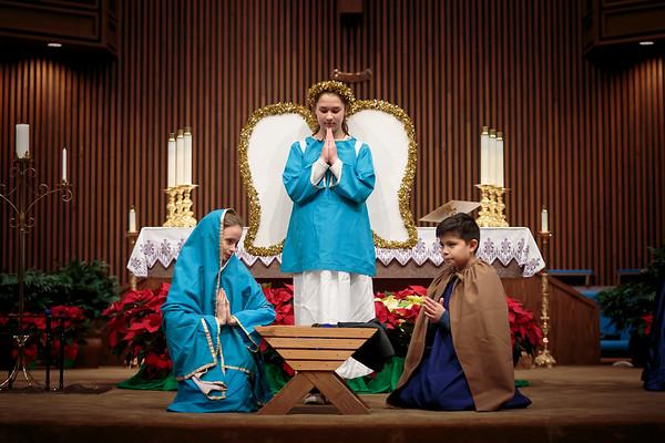 2017 - HFCC Family Christmas Mass - Children's 1st Christmas Reenactment