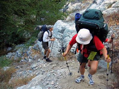 9/18/2004 - Bridge to nowhere hike