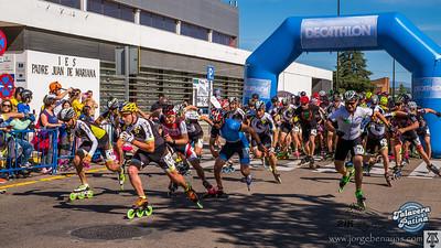 I Media Maratón en patines