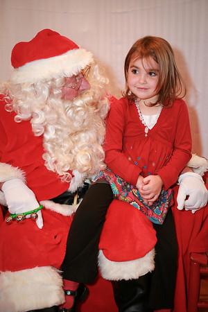 Santa at Rainbow School