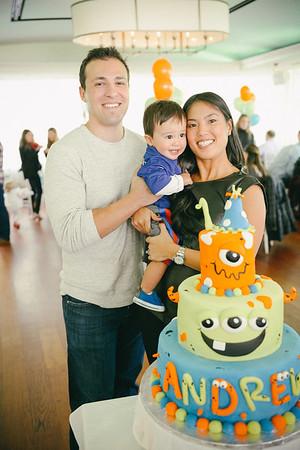 Andrew's 1st Birthday Party