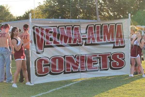 2012 Comanche vs. Velma Football