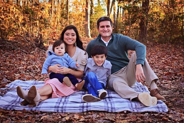 The Newton Family {Fall 2019)
