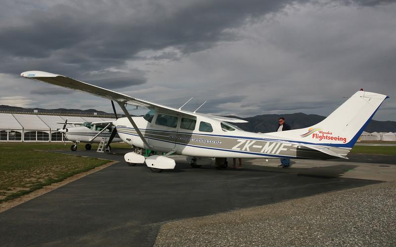 Cessna die uns zum Milford Sound flog