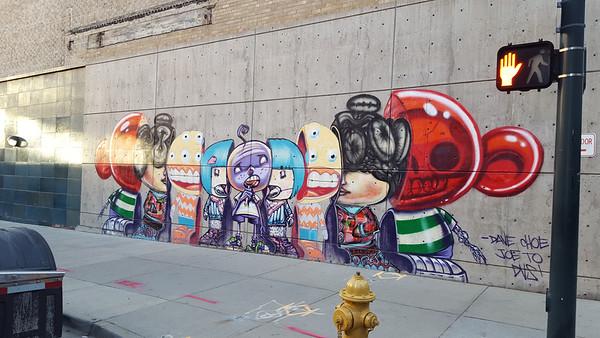 Art around town . To date.