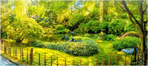Portland Japanese Garden, Oregon