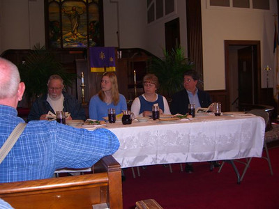 Seder Meal 2008