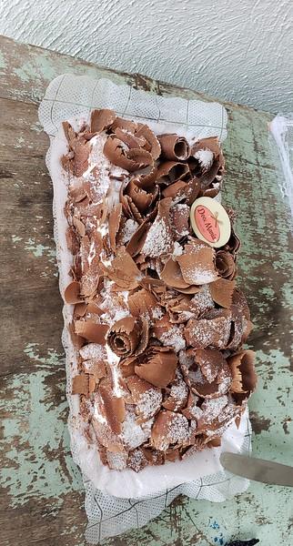 chocolate mouse desert for brazilian bbq