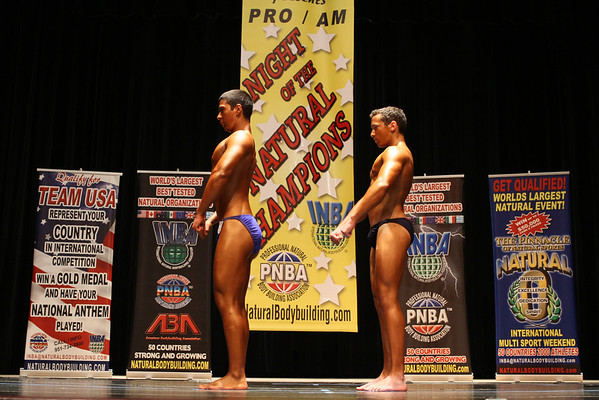 2012 Night of the Natural Champions PreJudging in San Rafael, CA.