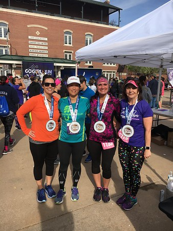 Go Girl half marathon OKC 2018