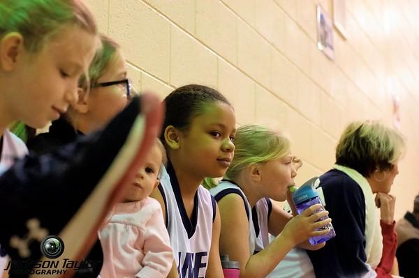 Arnold Mill 3rd grade girls last three games