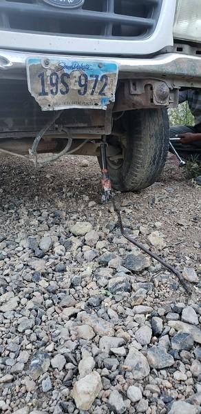 Cerro Bola trip for maintenance and more