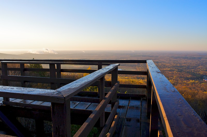 The observation tower Rib Mountain Wisconsin.