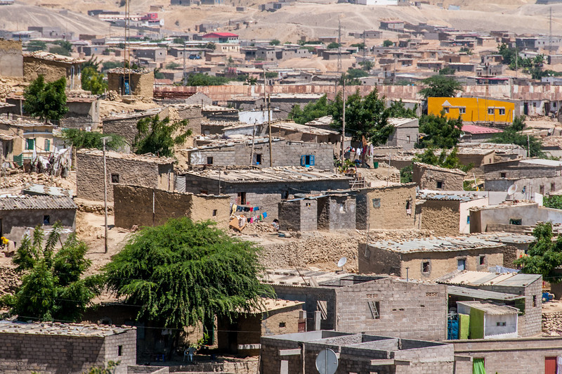 Houses in Lobito, Angola