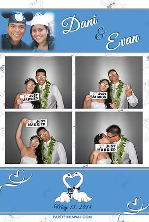 Dani & Evan's Wedding (Luxury Photo Pod)
