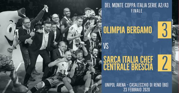 Del Monte® Coppa Italia Serie A2/A3 - Finale 2019/2020