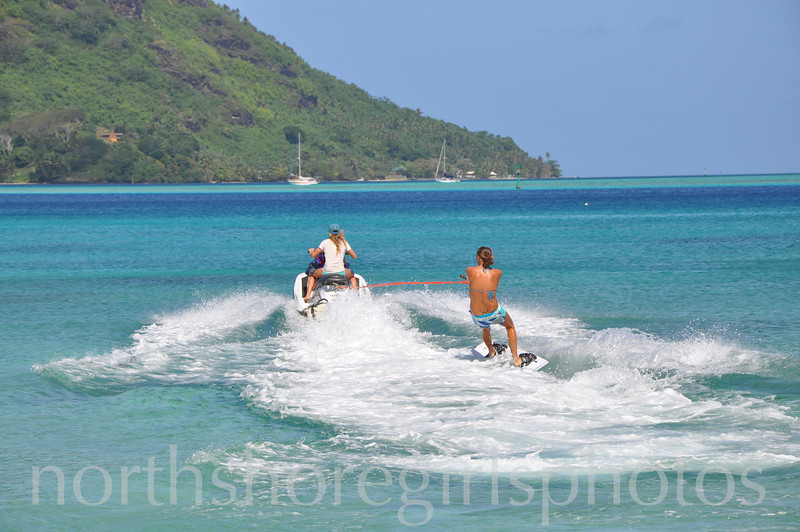 Fun in Tahiti