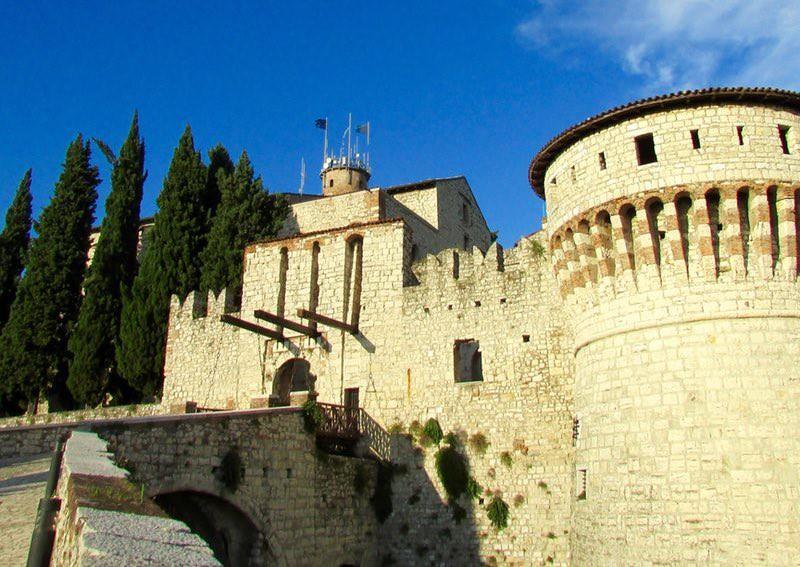 Castle of Brescia, Italy