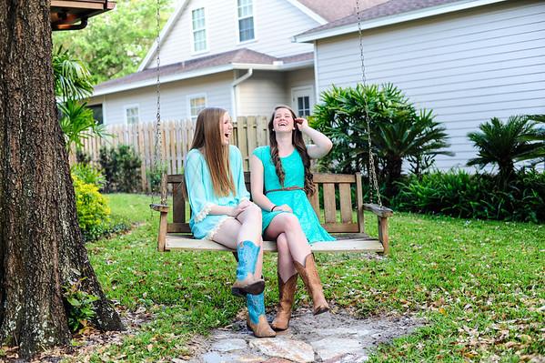 Bailey and Carlie