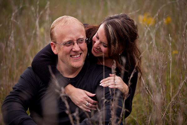 Mike & Kim's Engagement - Jefferson City, MO Wedding Photographer