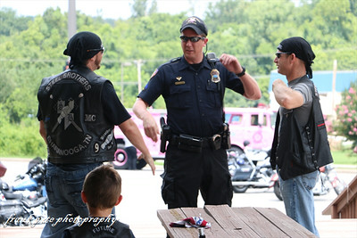Steel Bros. Thin Blue Line Ride 07/27/14
