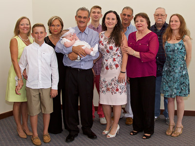 2017 Baptism - August