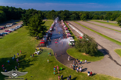 Fire Truck Day @ Akron Burn Camp 2017
