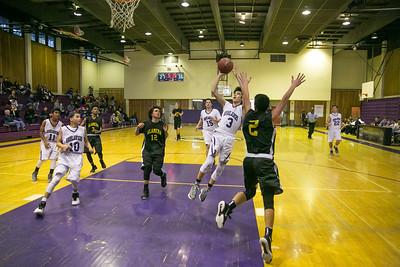 Piedmont Freshman Basketball vs Alameda 1-15-16