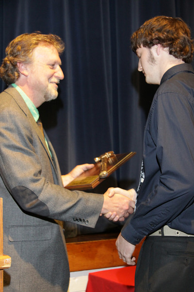 Awards Night 2012 - Golden Hammer Award (Industrial Technology Student of the Year)