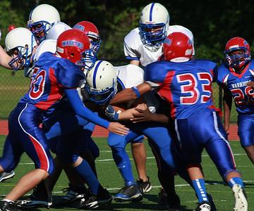 JV Football vs Brookline 2011