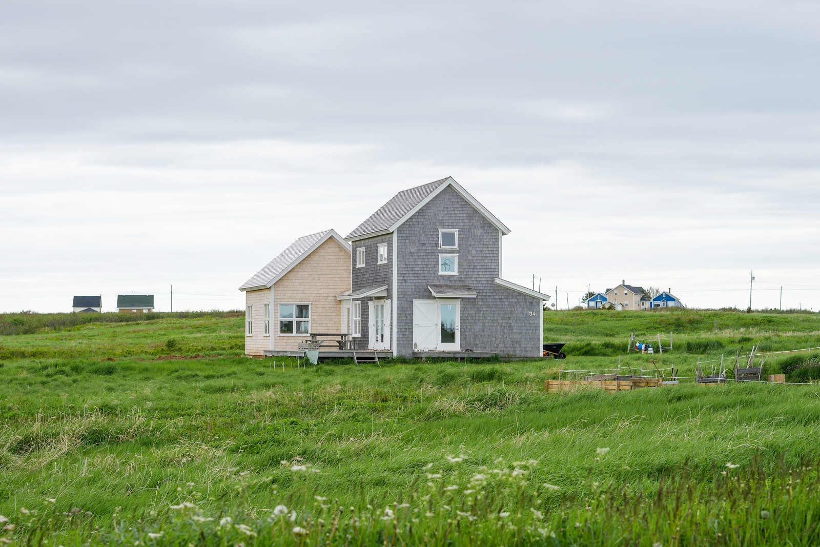 I would give up almost everything to live in this house in Havre-Aubert.